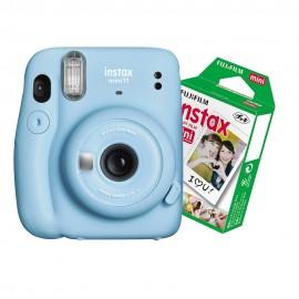 Câmera Instantânea Instax Mini 11 + Filme 10 Fotos - Azul