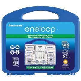 Kit Eneloop Power Pack Com Maleta