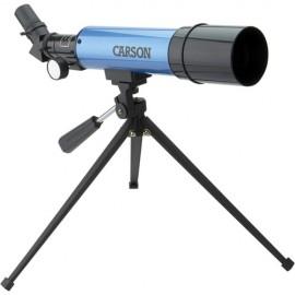 Telescopio Refrator Carson Aim Mtel50 18 A 80x