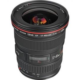 Lente Canon Ef 17-40mm F/4l Usm Linha L