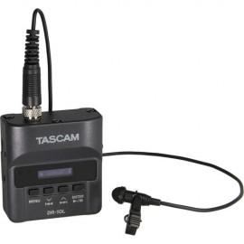 Gravador De Audio Digital Tascam Dr-10l Com Lapela