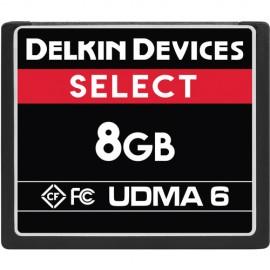 Cartão Compact Flash (CF) Delkin 8gb 75MB