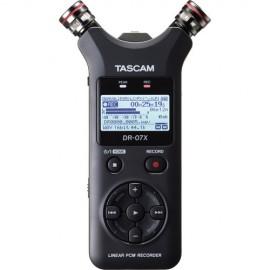 Gravador De Audio Digital Tascam Dr-07x