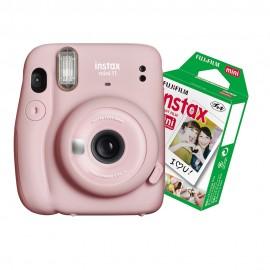 Câmera Instantânea Instax Mini 11 + Filme 10 Fotos - Rosa