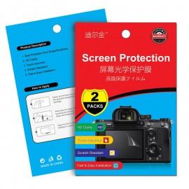Kit 2x Película Protetora Lcd Display Para Eos 6d Mark Ii