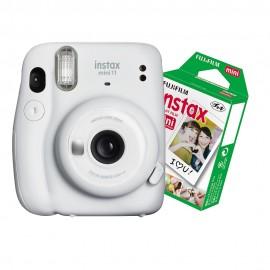 Câmera Instantânea Instax Mini 11 + Filme 10 Fotos - Branca