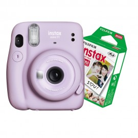 Câmera Instantânea Instax Mini 11 + Filme 10 Fotos - Lilas