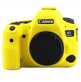 Capa / Case Silicone Proteção Canon EOS 6D Mark II Amarelo