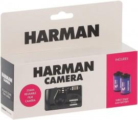 Câmera Analógica De Filme 35mm Harman + 2 Filmes Iso 400 Pb