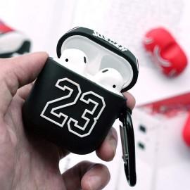 Case De Proteção Apple AirPods 1 2 Chicago Bulls - Preto