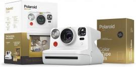 Câmera Polaroid Now Golden Box Com Filme
