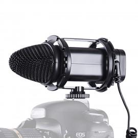 Microfone Boya BY-V02 Condensador Stereo