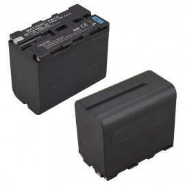 Bateria Recarregável NP-F970/F960 Para Iluminadores de Led