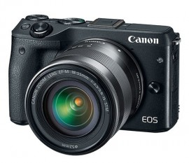 Canon M3 Eos Mirrorless Com 18-55 Mm Is Stm