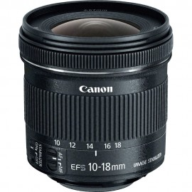 Lente Canon 10-18mm STM IS F/4.5-5.6