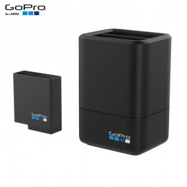 Carregador Duplo + Bateria Gopro Hero 7 6 5 Black Original