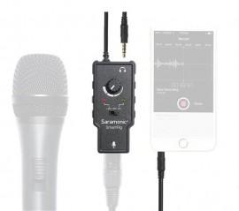 Central Amplificadora Saramonic Xlr - P3 Para Smartphone