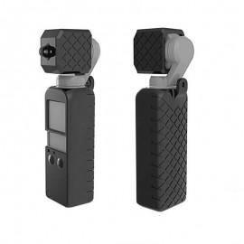 Case Silicone Para Dji Osmo Pocket + Protetor De Lente - Preta
