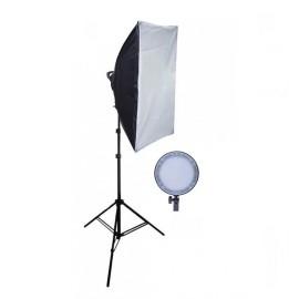 Kit Iluminação Estúdio Com Led Softbox Max 45 - Bicolor