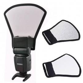 Rebatedor Pá Rígido Para Flash Speedlight Universal
