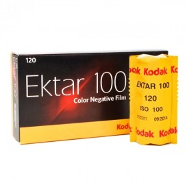 Filme Fotográfico Kodak Ektar 100 Color - 120mm - 1 Unidade