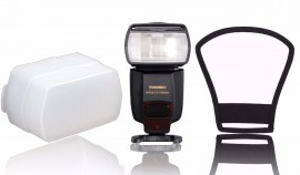 Flash Yongnuo Yn565ex Nikon + Rebatedor + Copo Difusor