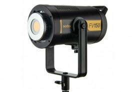 Iluminador Led Godox Fv150 5600k Luz Contínua E Flash Bivolt