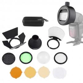 Kit Godox Ak-r1 + S-r1 Para  Flash Universal