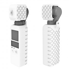 Case Silicone Para Dji Osmo Pocket + Protetor De Lente - Branca