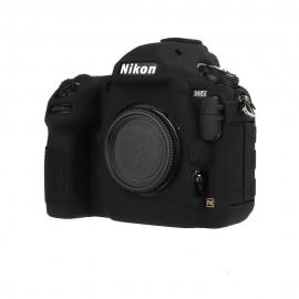 Capa / Case Silicone Para Proteção Nikon D850 Preta