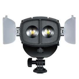 Iluminador Led Fresnel Portátil Cob CN-20FC + Brinde