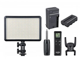 Iluminador Led Godox 308c Com Bateria E Carregador