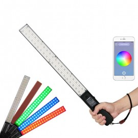 Iluminador Led Espada Yongnuo Yn360 RGB Colorido Com fonte + Bat +Car