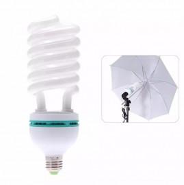 Lâmpada Espiral 150w 5500k Para Kit Estúdio e Softbox - 110v