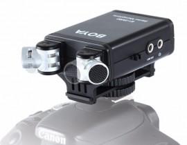 Microfone Boya By-sm80 Para Canon Nikon Sony