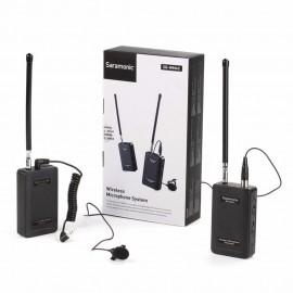 Microfone Lapela Sem Fio Saramonic Wireless SR-WM4C
