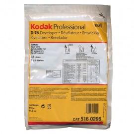 Revelador Em Pó Kodak D-76 Para Filme Em Preto e Branco 415g Rende 3,8 Litros