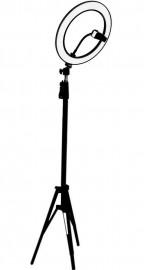 Ring Light Iluminador Beauty Make 26cm 10 Polegadas C/ Tripé