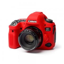 Capa / Case Silicone Para Proteção Canon EOS 6D Mark II Vermelho