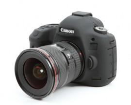 Capa / Case Silicone Para Proteção Canon 5d Mark Iii Preta