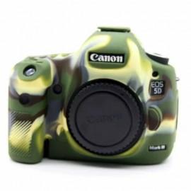 Capa / Case Silicone Para Proteção Canon 5d Mark Iii Camuflado