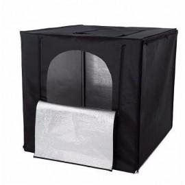 Tenda Led Portátil 40x40 50w Com Difusor E Fundos Coloridos