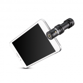 Microfone Rode VideoMic ME-L para Iphone, Ipad