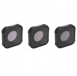 Kit Filtros Nd 8 16 31 Lente Magnetico P/ Gopro Hero 9 Black